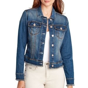 Nine West Women's Denim Jacket, Outerbanks